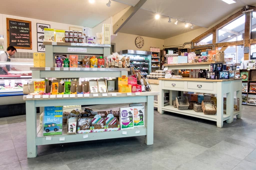 Hartley Farm Shop in Winsley near Bradford on Avon