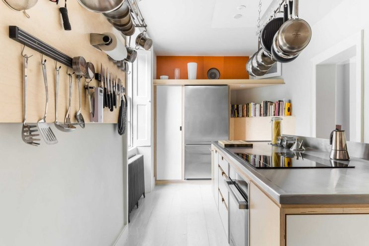 Hanging and wall racks for cutlery and pots