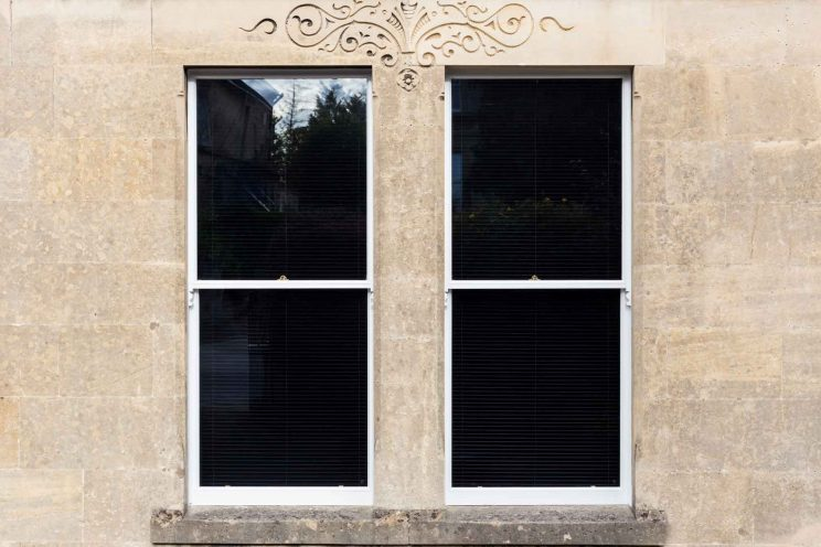 Victorian, double glazed sash windows