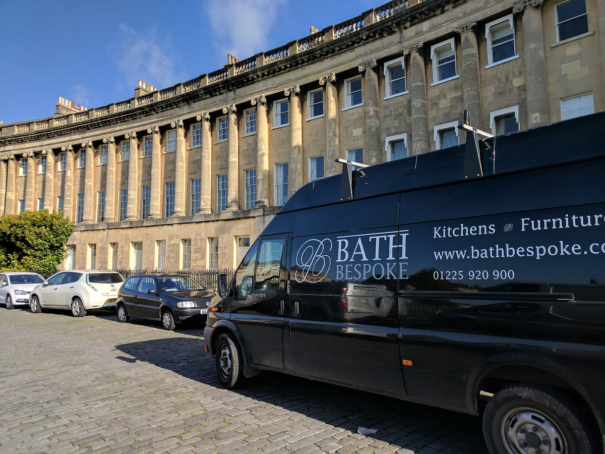 Sash Windows at Royal Crescent in Bath