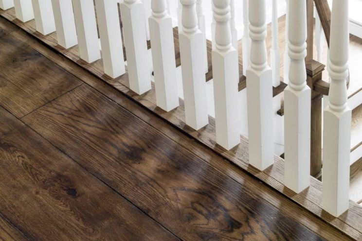 Staircase banisters