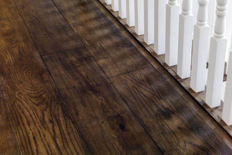 High Quality Sustainable Wooden Floors Bath Bespoke