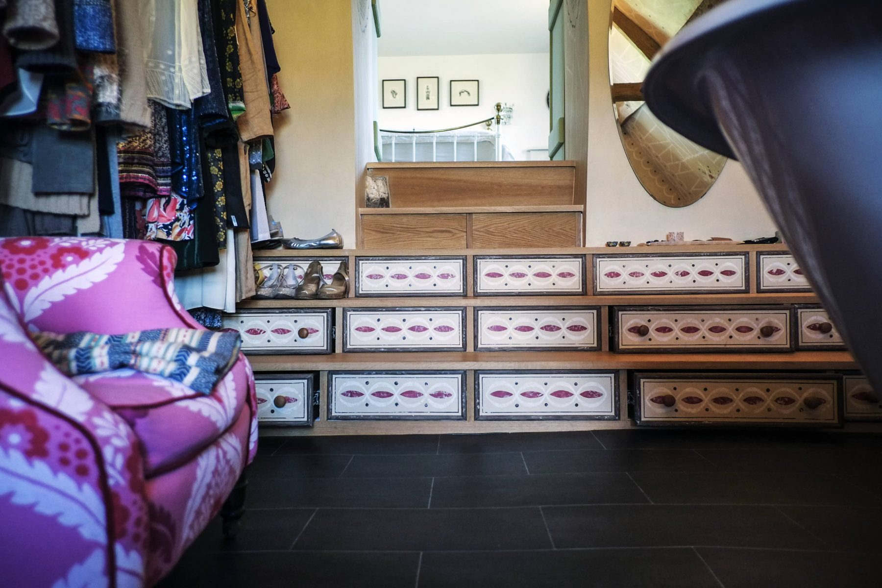 Under stair drawer storage solutions