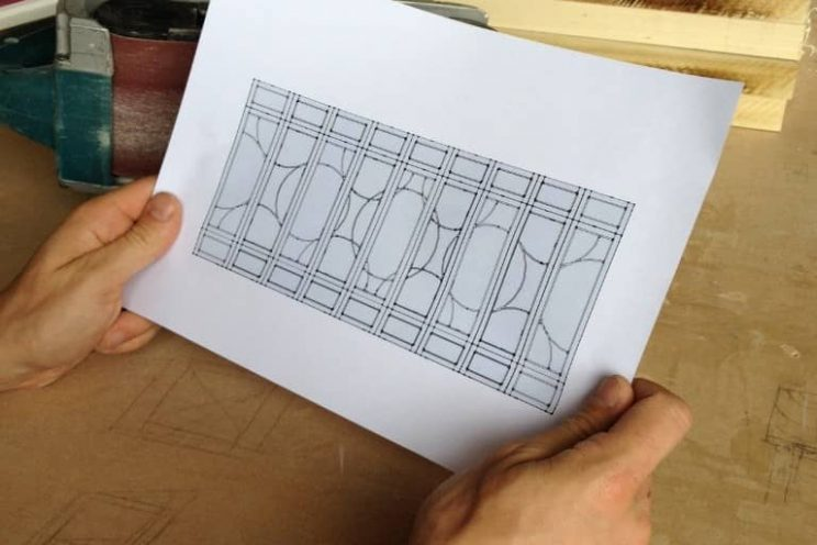 Template for fitted wardrobes in Clifton, Bristol