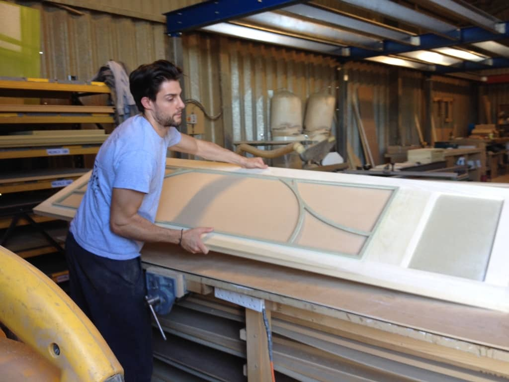Dan at Bath Bespoke making fitted wardrobes in Clifton Bristol