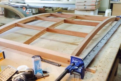 Hardwood timber window frames by Bath Bespoke