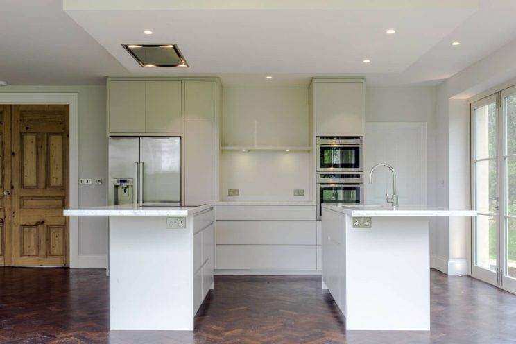 Bespoke contemporary kitchen in Kelston, Nr Bath
