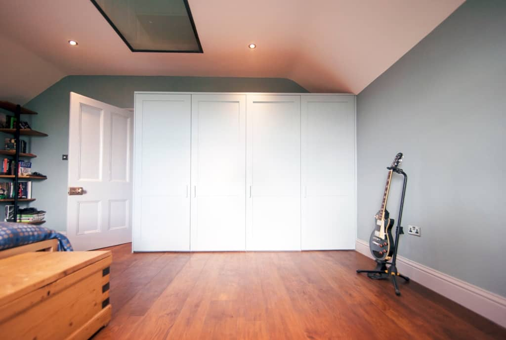 Fitted Wardrobes With A Secret Door