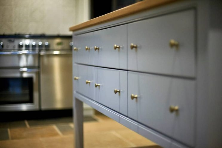 English classic kitchen drawer in Bath