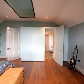 Fitted modern wardrobes in Clifton Bristol