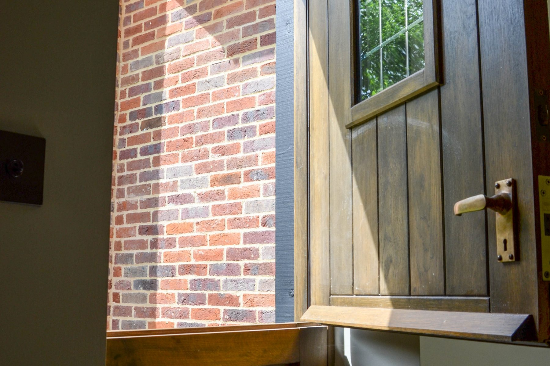 Hardwood stable door