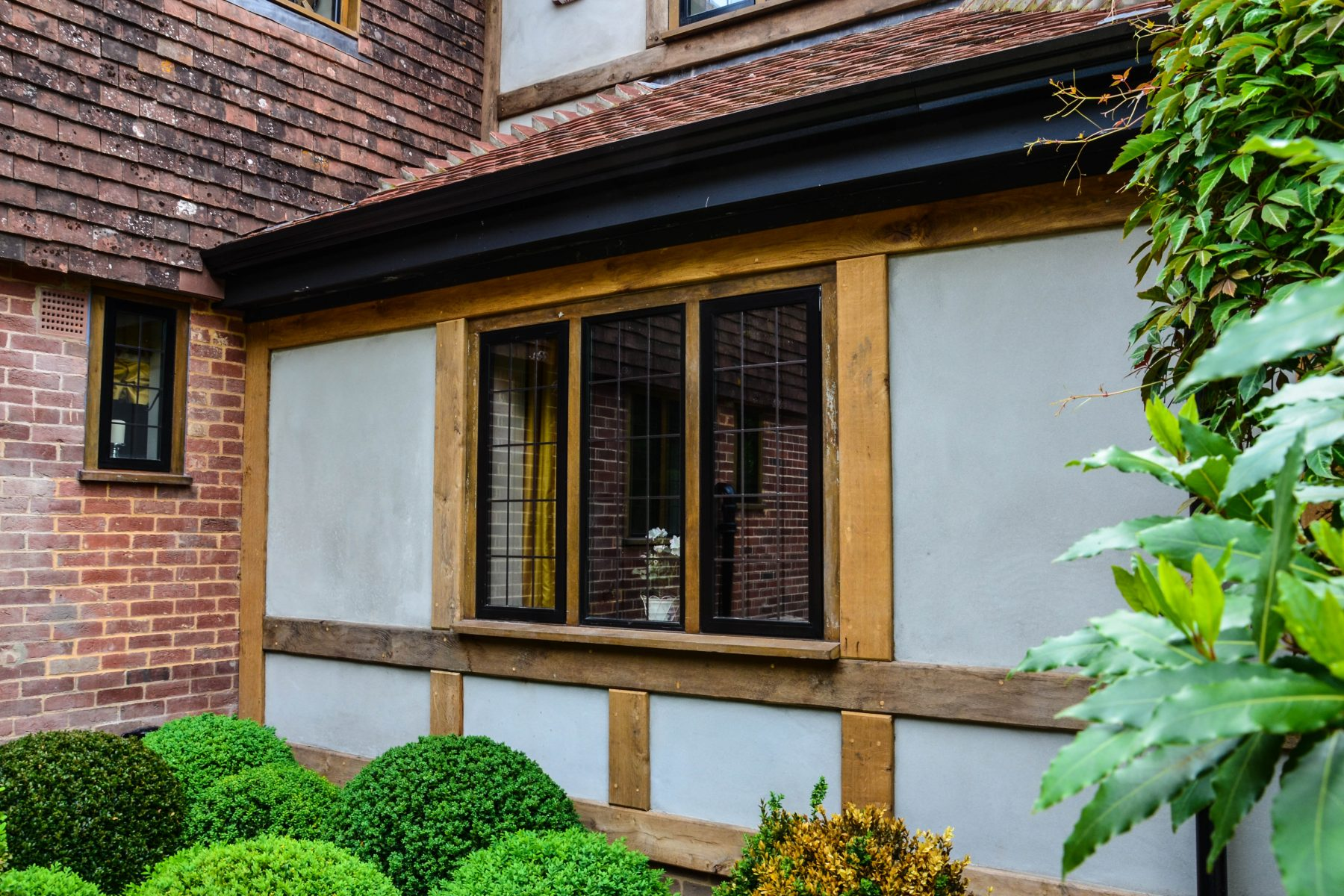 French casement windows photos houzz - Black Casement Windows In Heritage Home