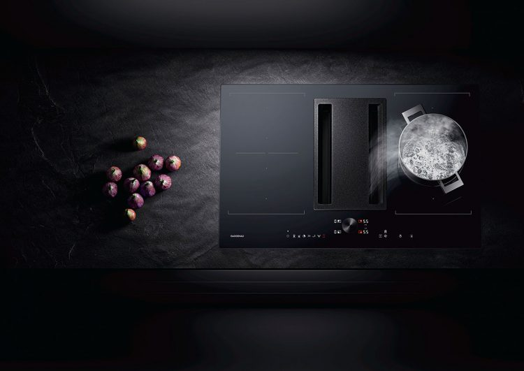 gaggenau launches new flex induction cooktops with integrated ventilation system. Black Bedroom Furniture Sets. Home Design Ideas