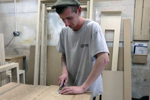 Will Kelsall. Carpenter Apprentice