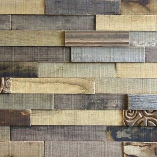 Wooden wall cladding - Reclaimed Chestnut