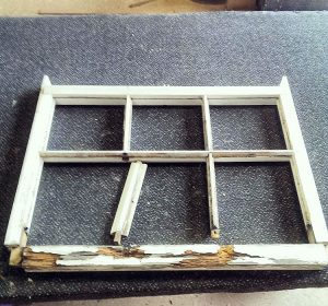 Restoring a sash window