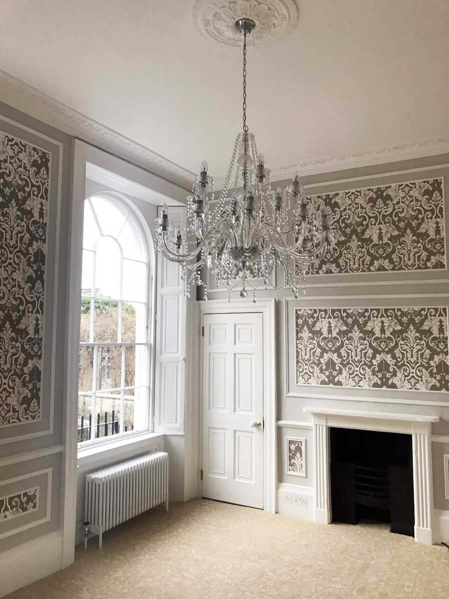 Cleveland House decorative wall panelling