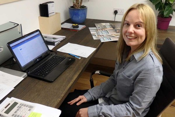 Kate Buckrell. Bath Bespoke's Accountant