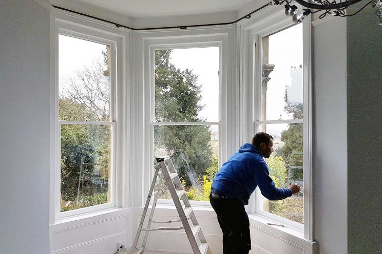 Sash windows restoration in Bristol and Bath
