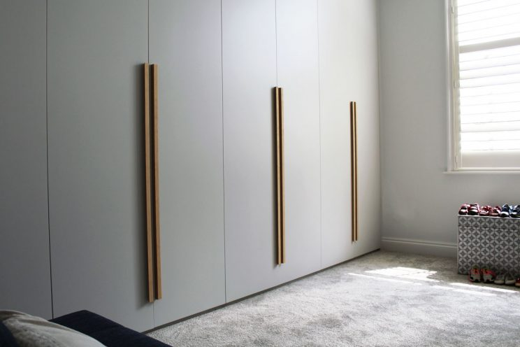 Smooth Shallows Fitted Wardrobe In Family Townhouse In