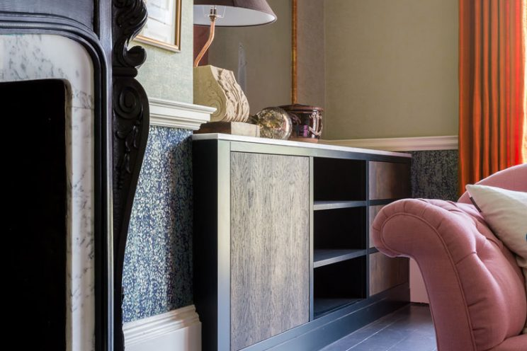 Classic sideboard with a modern twist