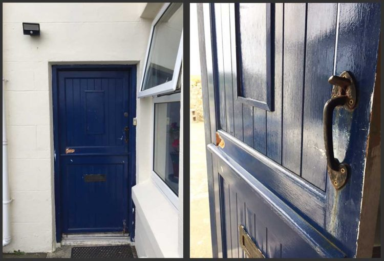 While Aesthetics Was A Concern The Safety Of The Home Was Also A Major Issue. & Rust Metal Door Destroy - impremedia.net