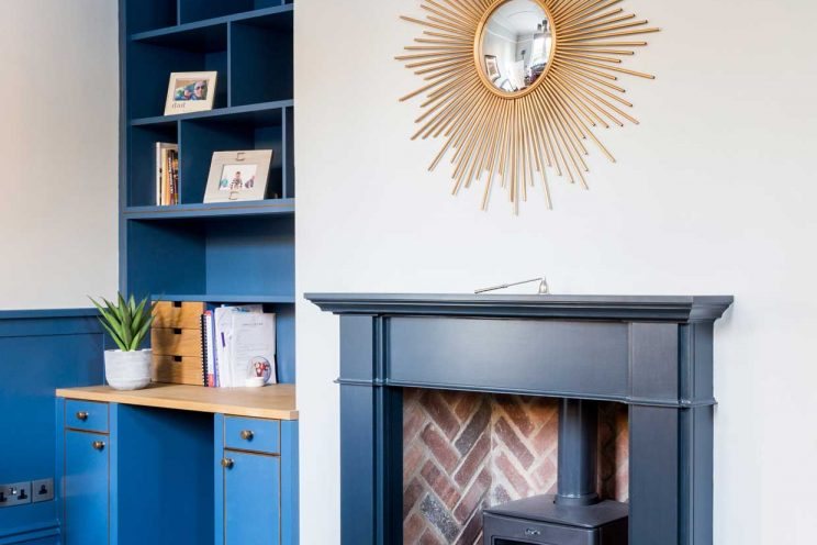 Bespoke furniture for an office and library
