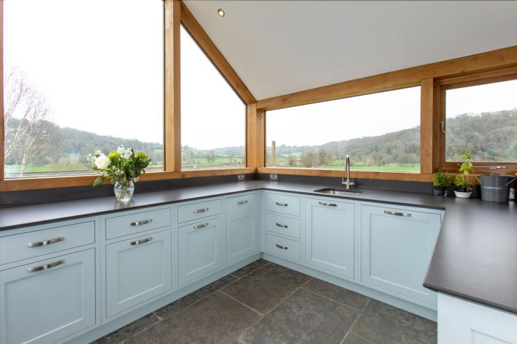 We designed this kitchen for a client's country home.