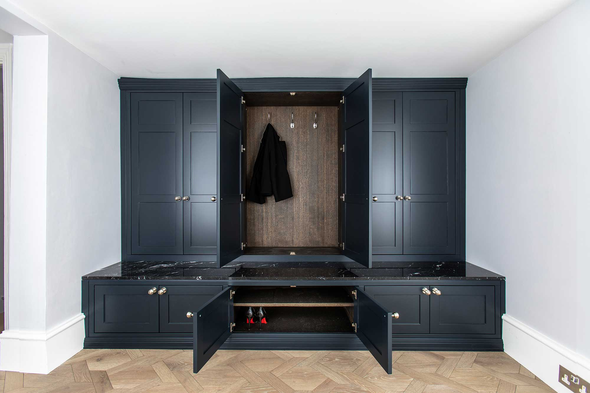 Custom Made Boot Rooms With Style Bath Bespoke