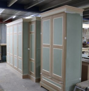 Work in progress - large wardrobe for Georgian townhouse