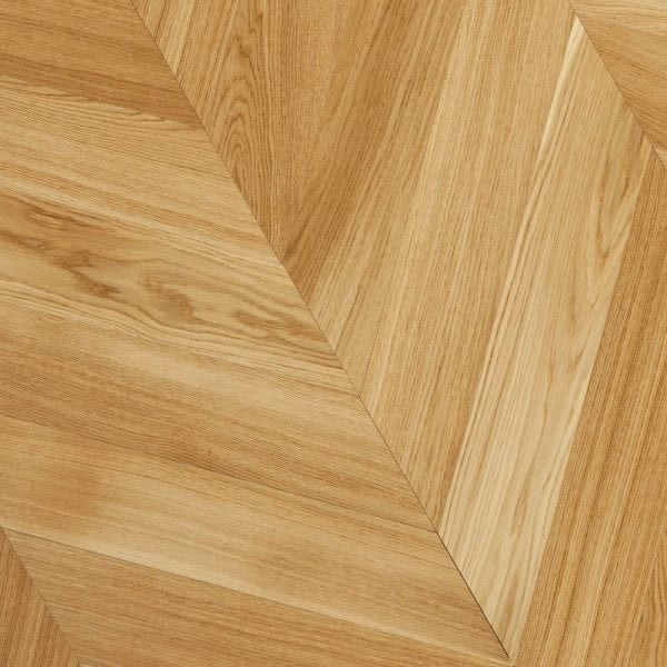 Chevron flooring oak