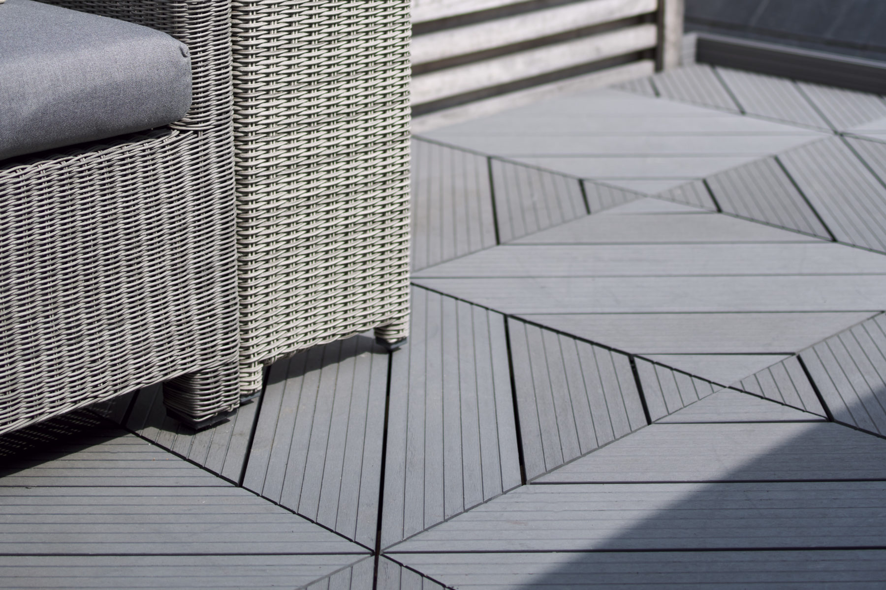 Composite Prime roof terrace decking