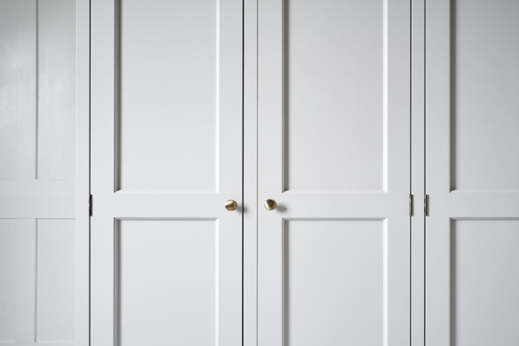 Classic style built-in wardrobe