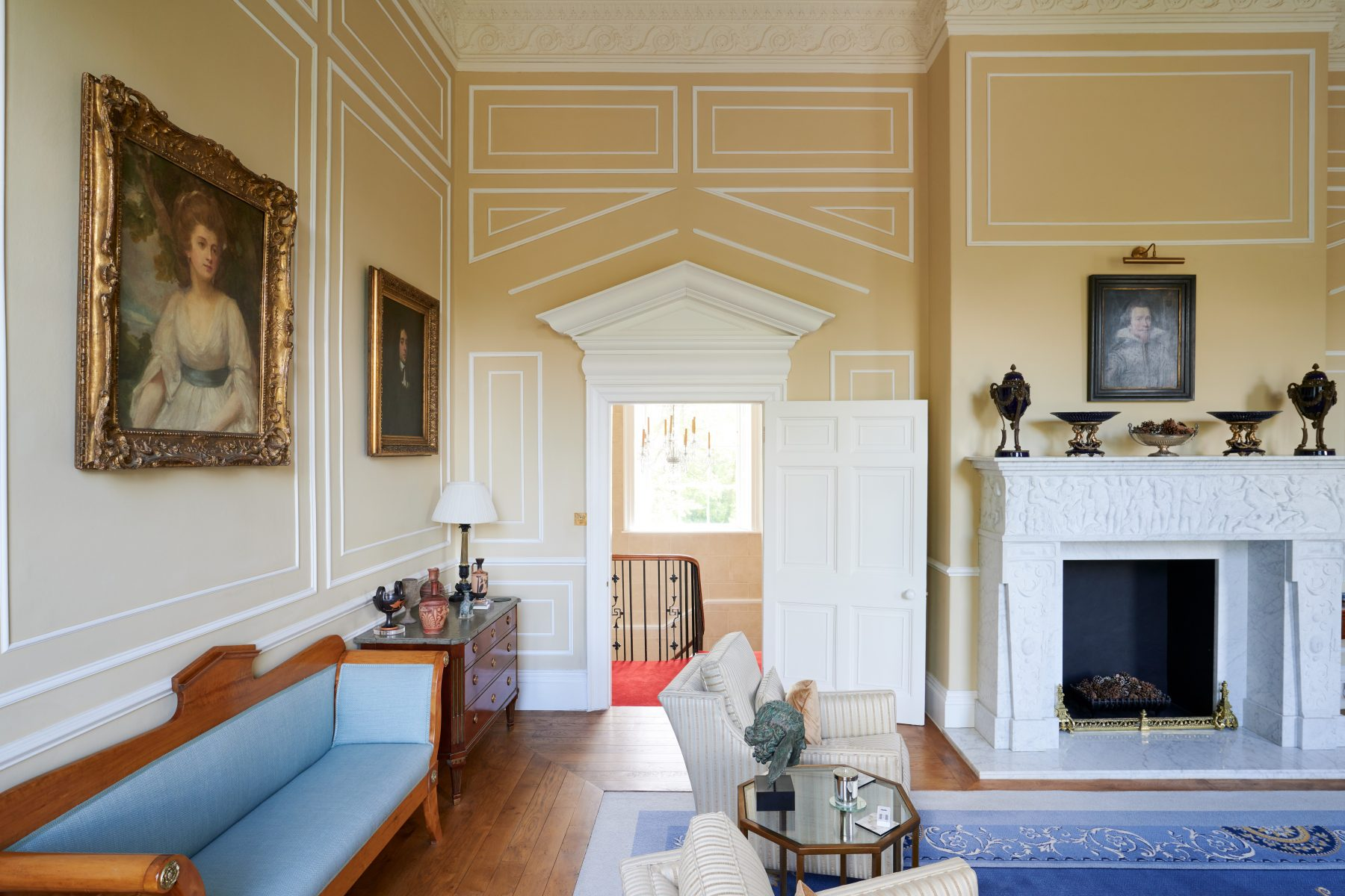 Bespoke wall panelling in keeping with the period and scale of the property